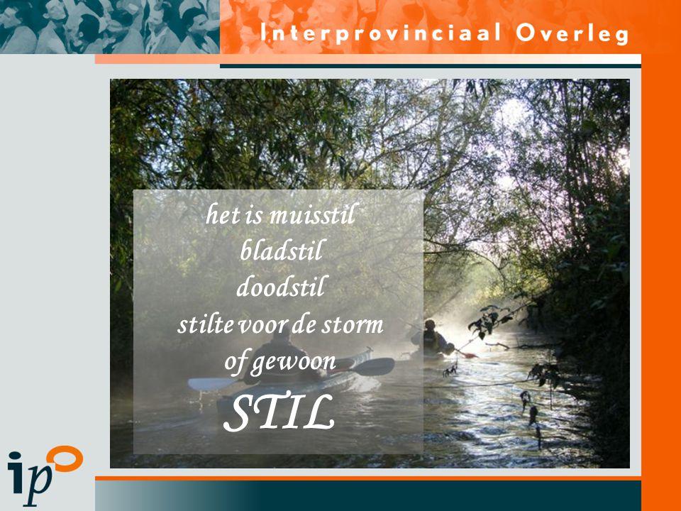 Subtitel het is muisstil bladstil doodstil stilte voor de storm of gewoon STIL