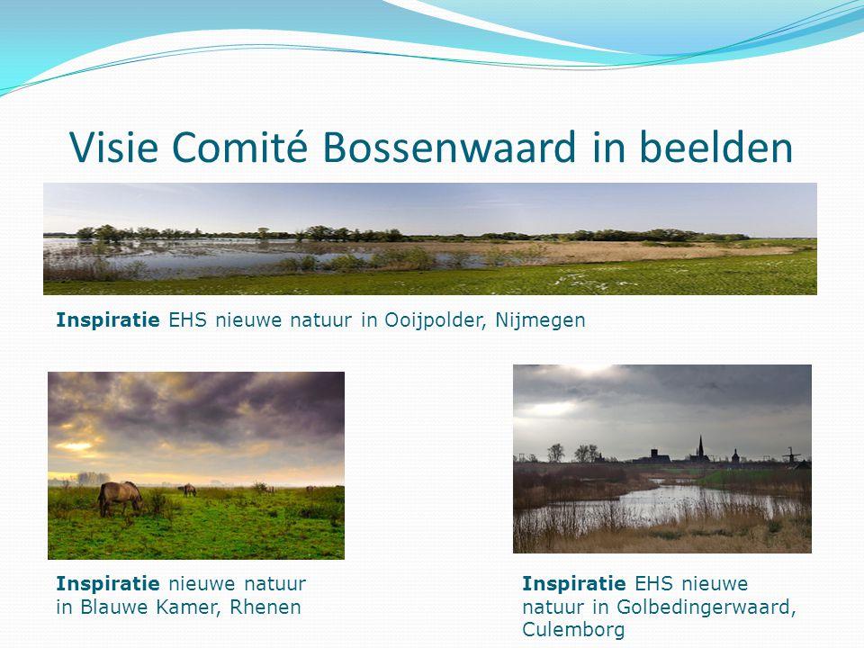 Inspiratie EHS nieuwe natuur in Ooijpolder, Nijmegen Inspiratie nieuwe natuur in Blauwe Kamer, Rhenen Inspiratie EHS nieuwe natuur in Golbedingerwaard