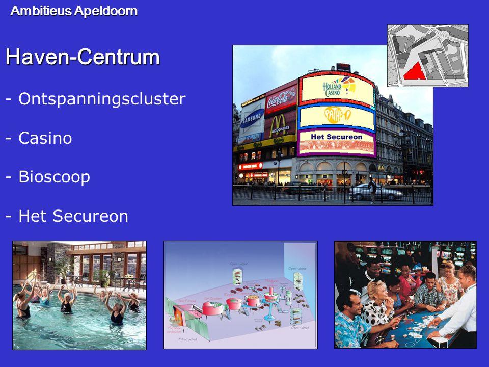 Ambitieus Apeldoorn Haven-Centrum - Ontspanningscluster - Casino - Bioscoop - Het Secureon