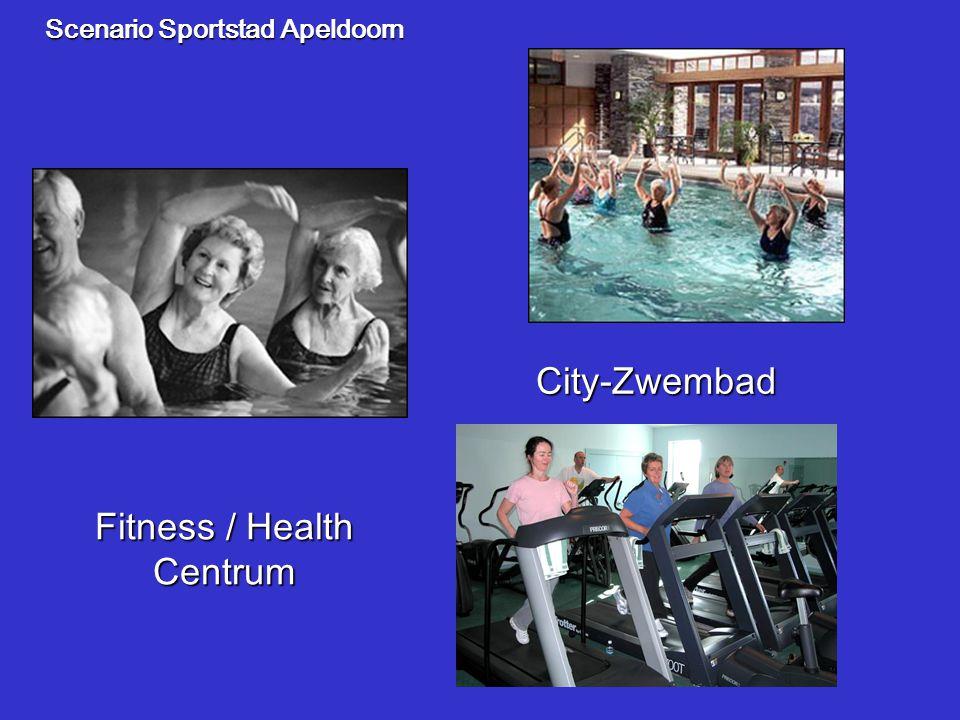Scenario Sportstad Apeldoorn City-Zwembad Fitness / Health Centrum