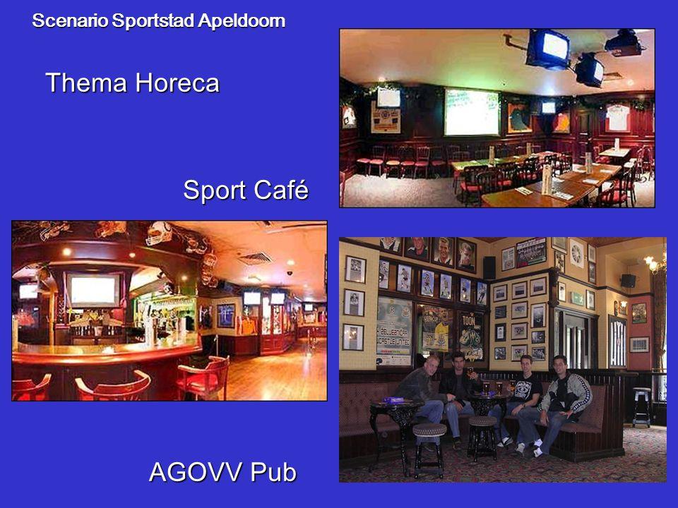 Scenario Sportstad Apeldoorn Sport Café Thema Horeca AGOVV Pub