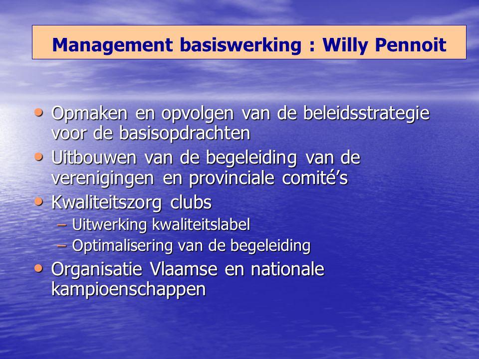 Opmaken en opvolgen van de beleidsstrategie voor de basisopdrachten Opmaken en opvolgen van de beleidsstrategie voor de basisopdrachten Uitbouwen van