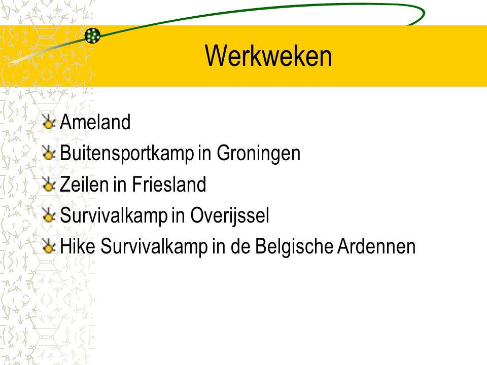 Werkweken Ameland Buitensportkamp in Groningen Zeilen in Friesland Survivalkamp in Overijssel Hike Survivalkamp in de Belgische Ardennen