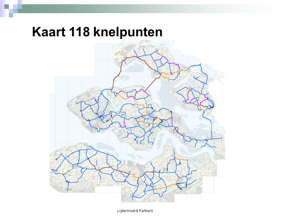 Ligtermoet & Partners Kaart 118 knelpunten