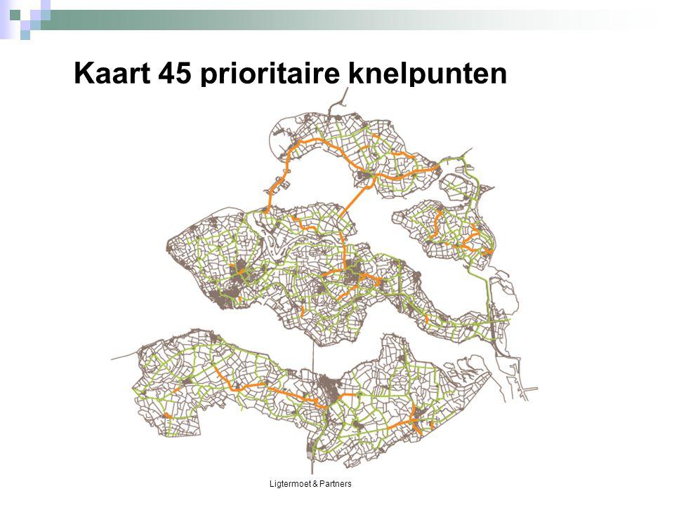 Ligtermoet & Partners Kaart 45 prioritaire knelpunten