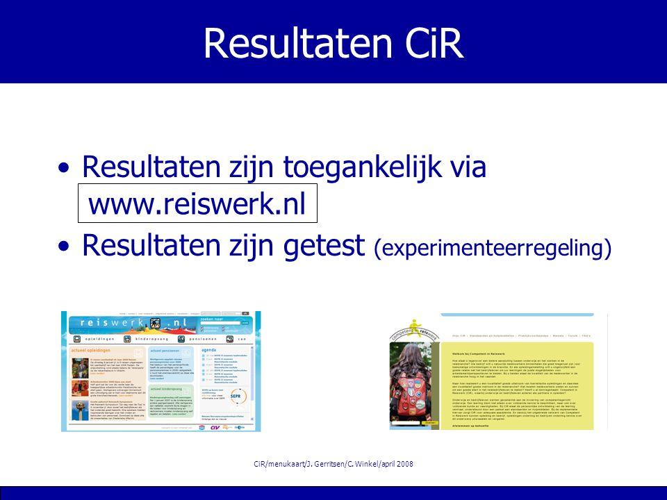 CiR/menukaart/J.Gerritsen/C.