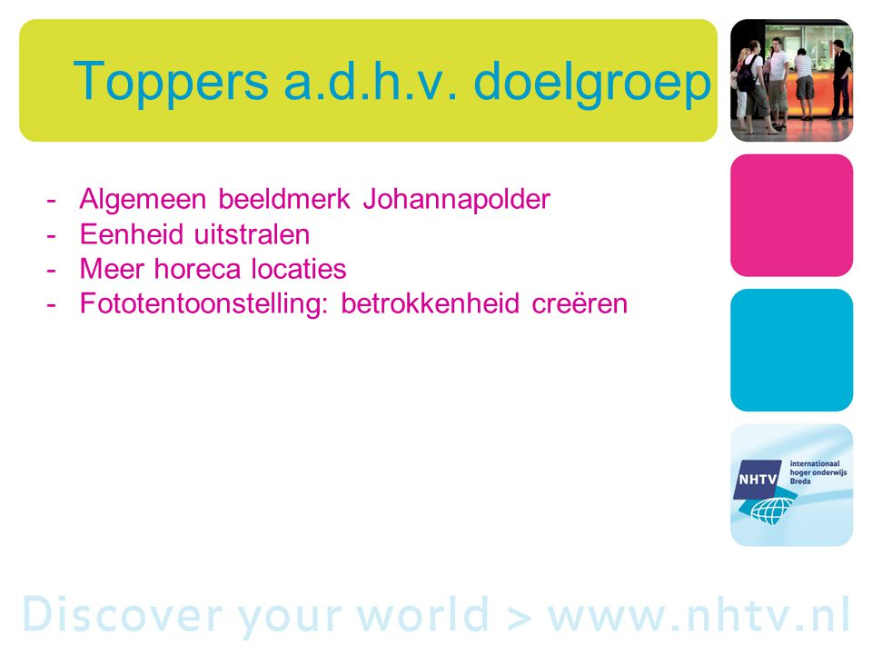 Toppers a.d.h.v.