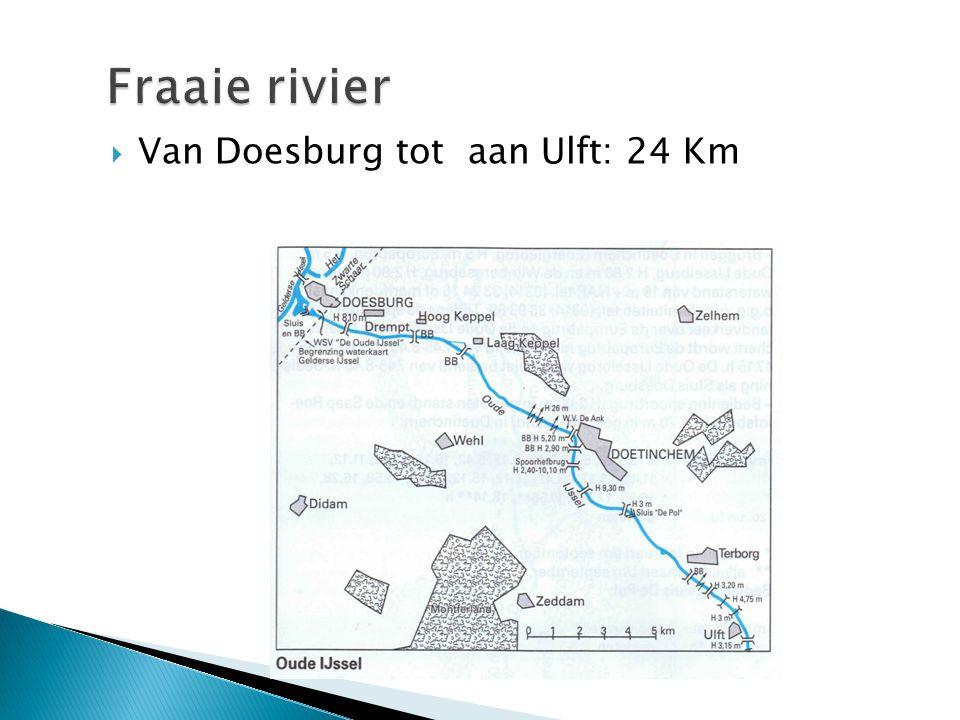 Van Doesburg tot aan Ulft: 24 Km
