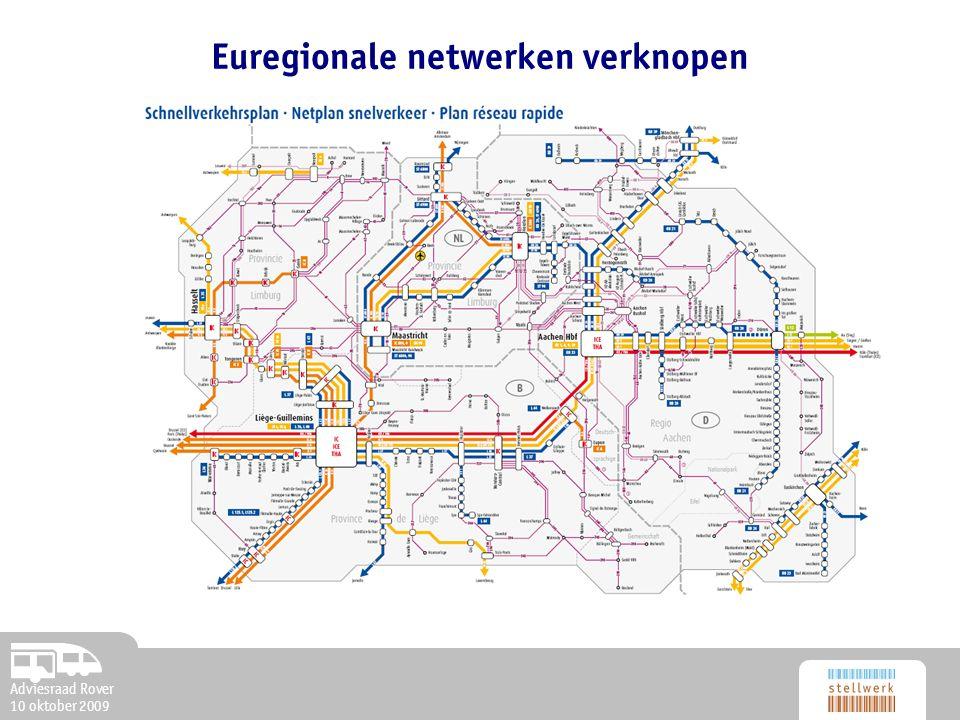 Adviesraad Rover 10 oktober 2009 Euregionale netwerken verknopen