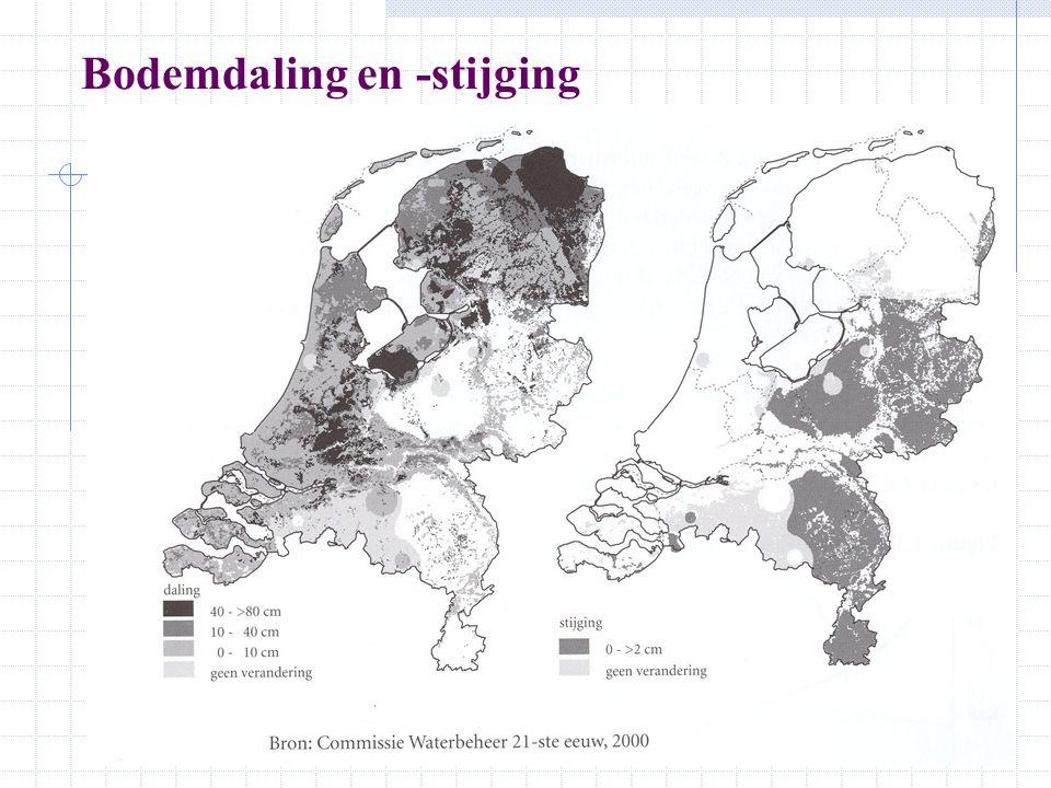 Waterproblematiek in Nederland, ruimtelijke opties 1.