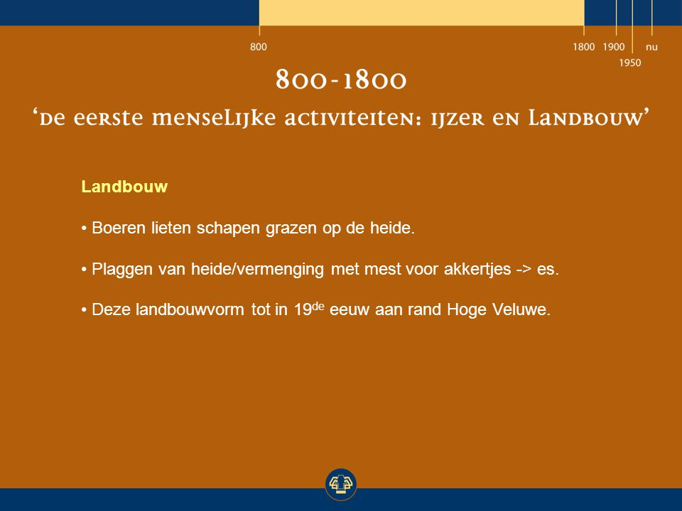 Natuurbeheer Boswachters & parkbeheerders zorgen voor behoud landschap.