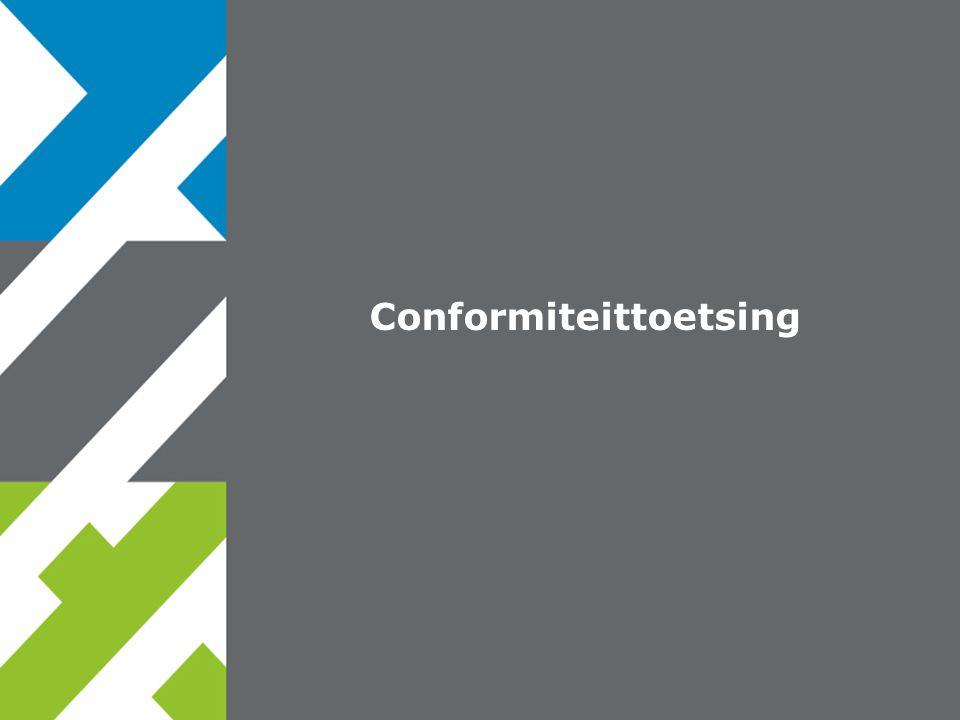 Conformiteittoetsing