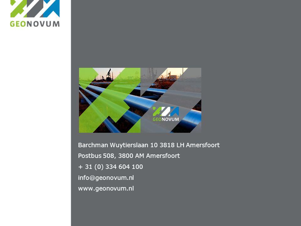 Barchman Wuytierslaan 10 3818 LH Amersfoort Postbus 508, 3800 AM Amersfoort + 31 (0) 334 604 100 info@geonovum.nl www.geonovum.nl