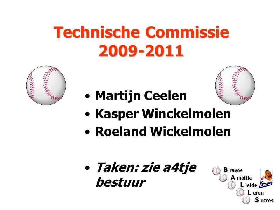 Technische Commissie 2009-2011 Martijn Ceelen Kasper Winckelmolen Roeland Wickelmolen Taken: zie a4tje bestuur B raves A mbitie A mbitie L iefde L ief