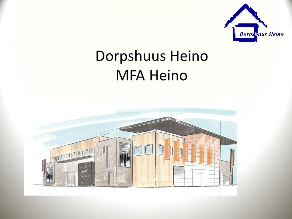 Dorpshuus Heino Geschiedenis Draagvlak Visie Programma van eisen Beheerplan Conclusie