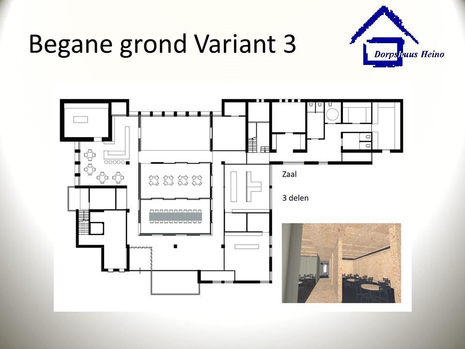 Begane grond Variant 3