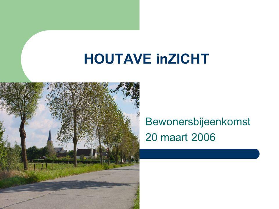 HOUTAVE inZICHT Bewonersbijeenkomst 20 maart 2006