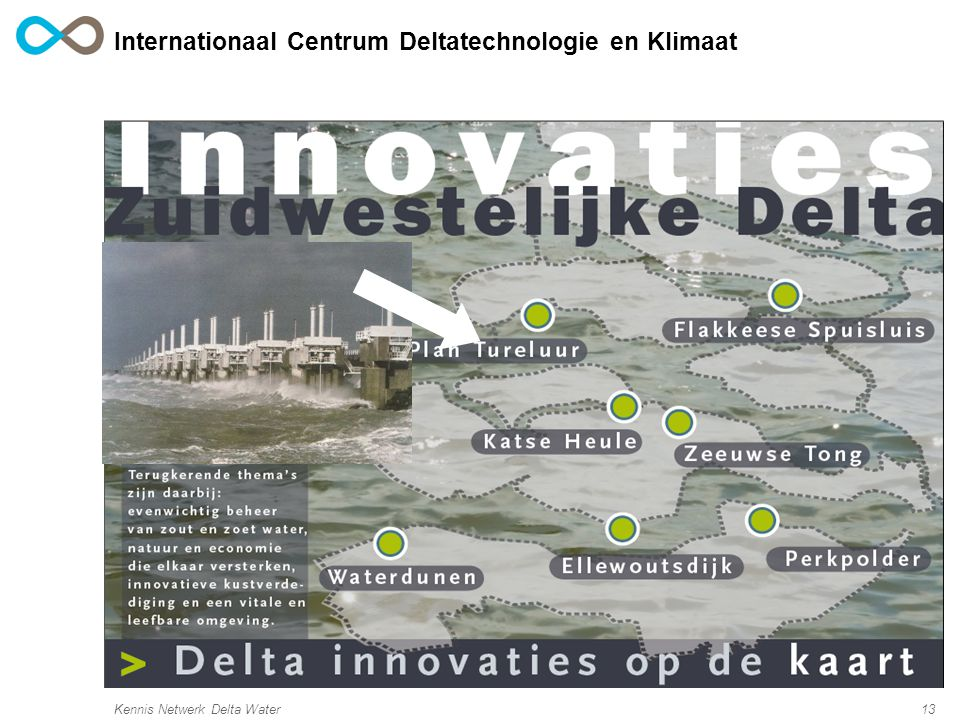 Kennis Netwerk Delta Water13 Internationaal Centrum Deltatechnologie en Klimaat