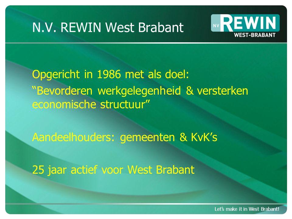 Let's make it in West Brabant.Wat vraagt dat van partners .