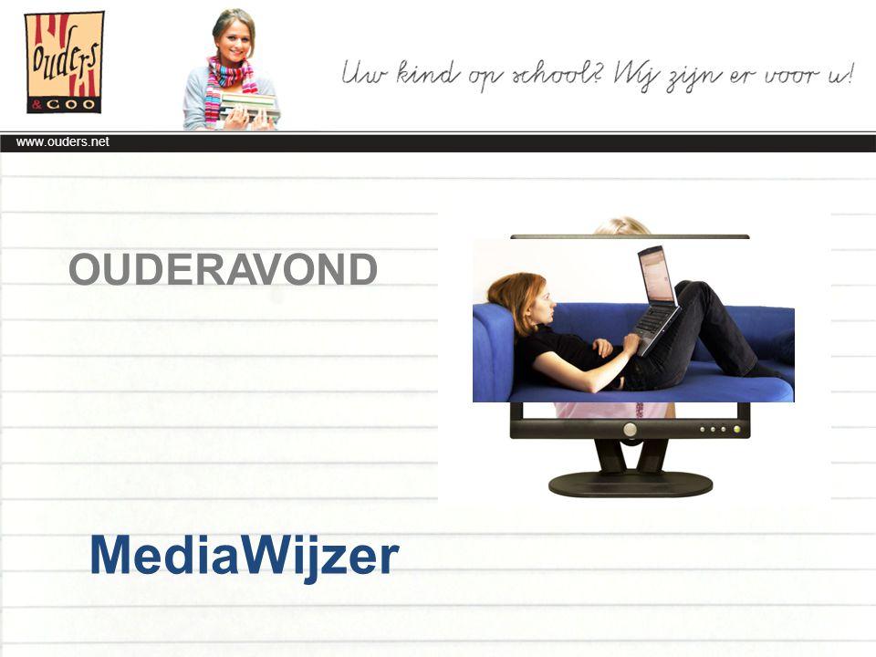 www.ouders.net Social Media Internettoepassingen waarmee mensen online met elkaar in contact kunnen komen en informatie kunnen delen.