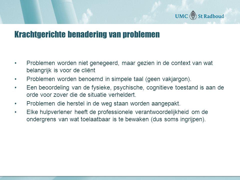 """Onderzoekscentrum maatschappelijke zorg """"gedreven door kennis, bewogen door mensen"""" Krachtgerichte benadering van problemen Problemen worden niet gene"""
