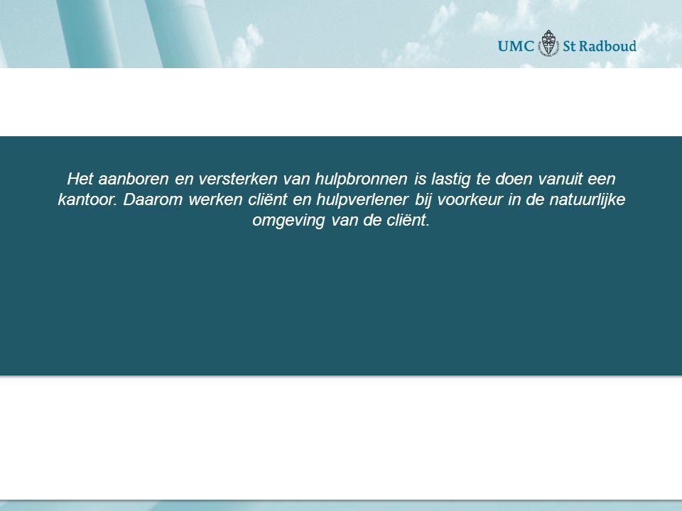 """Onderzoekscentrum maatschappelijke zorg """"gedreven door kennis, bewogen door mensen"""" Het aanboren en versterken van hulpbronnen is lastig te doen vanui"""
