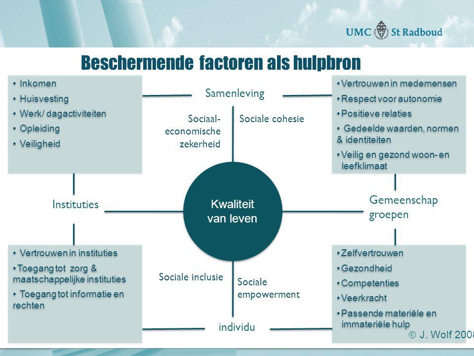 """Onderzoekscentrum maatschappelijke zorg """"gedreven door kennis, bewogen door mensen"""" Beschermende factoren als hulpbron individu Gemeenschap groepen Sa"""