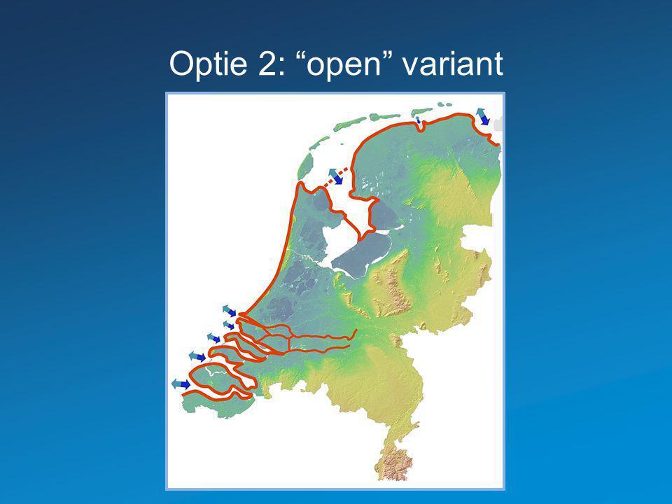 """Optie 2: """"open"""" variant"""