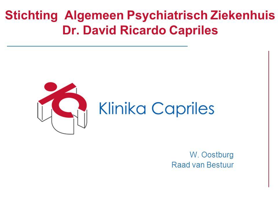 Stichting Algemeen Psychiatrisch Ziekenhuis Dr. David Ricardo Capriles W. Oostburg Raad van Bestuur