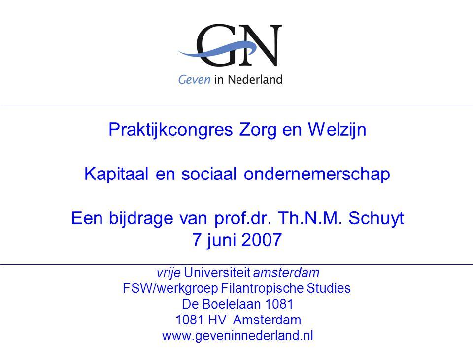 Geven in Nederland 7 juni 2007 2 Onderwerpen Civil Society Enkele cijfers Paradigma verandering Nieuwe rollen 1, 2, 3, 4