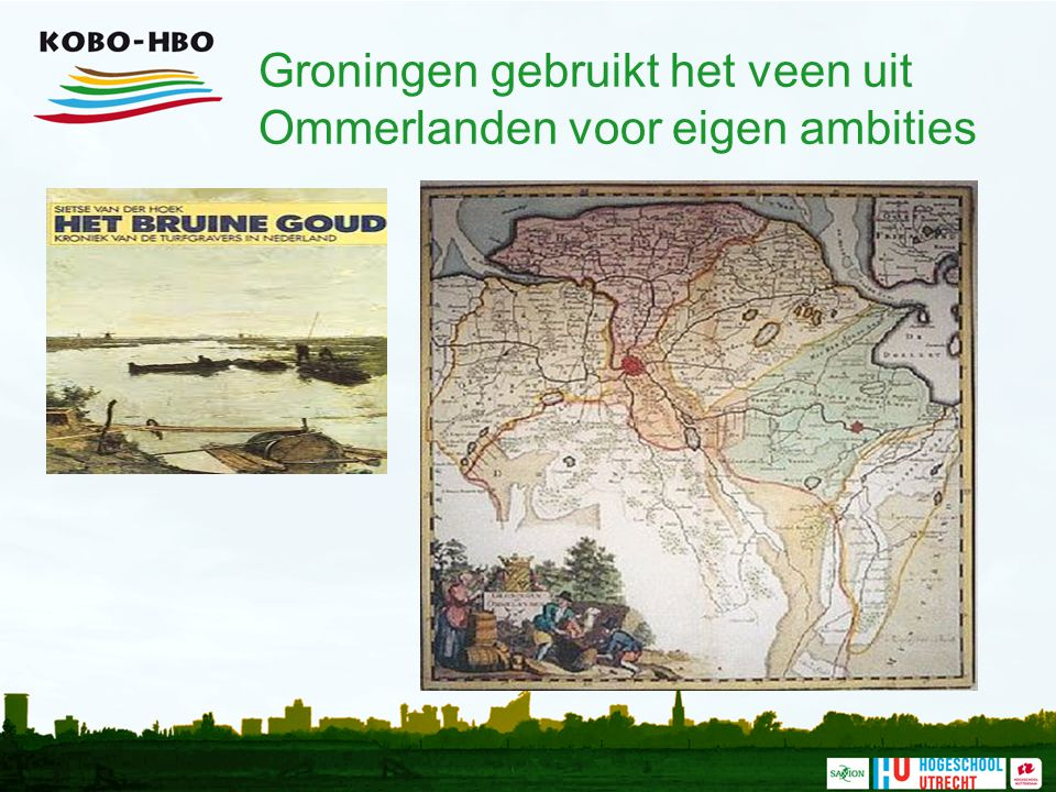Groningen gebruikt het veen uit Ommerlanden voor eigen ambities