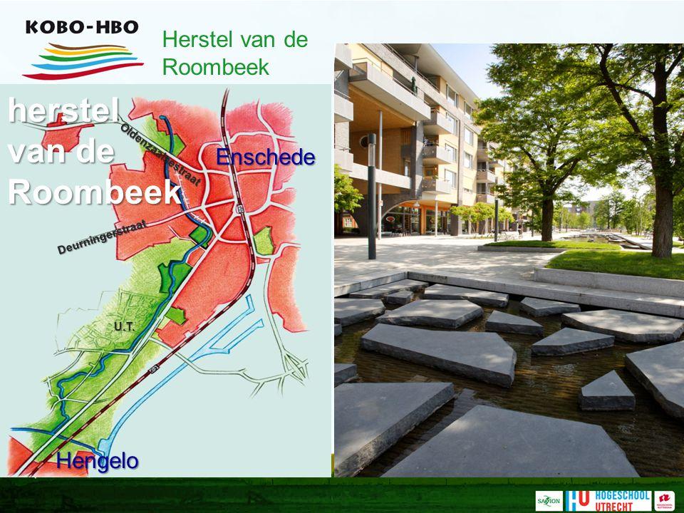 Oldenzaalsestraat Deurningerstraat Enschede Hengelo U.T. herstel van de Roombeek Herstel van de Roombeek