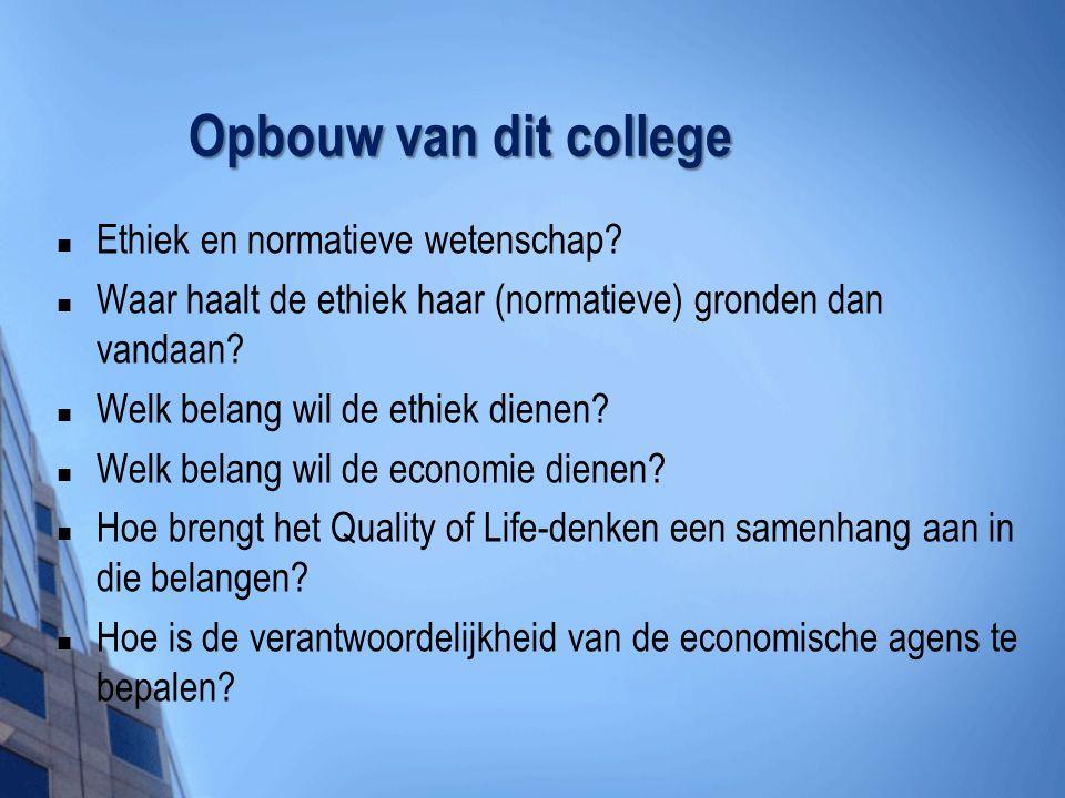 Quality of Life Onderzoek & QoL-ethiek 1.