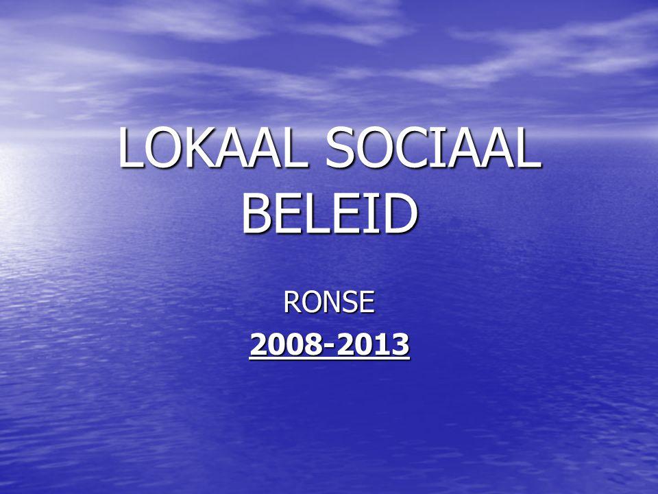 LOKAAL SOCIAAL BELEID RONSE2008-2013