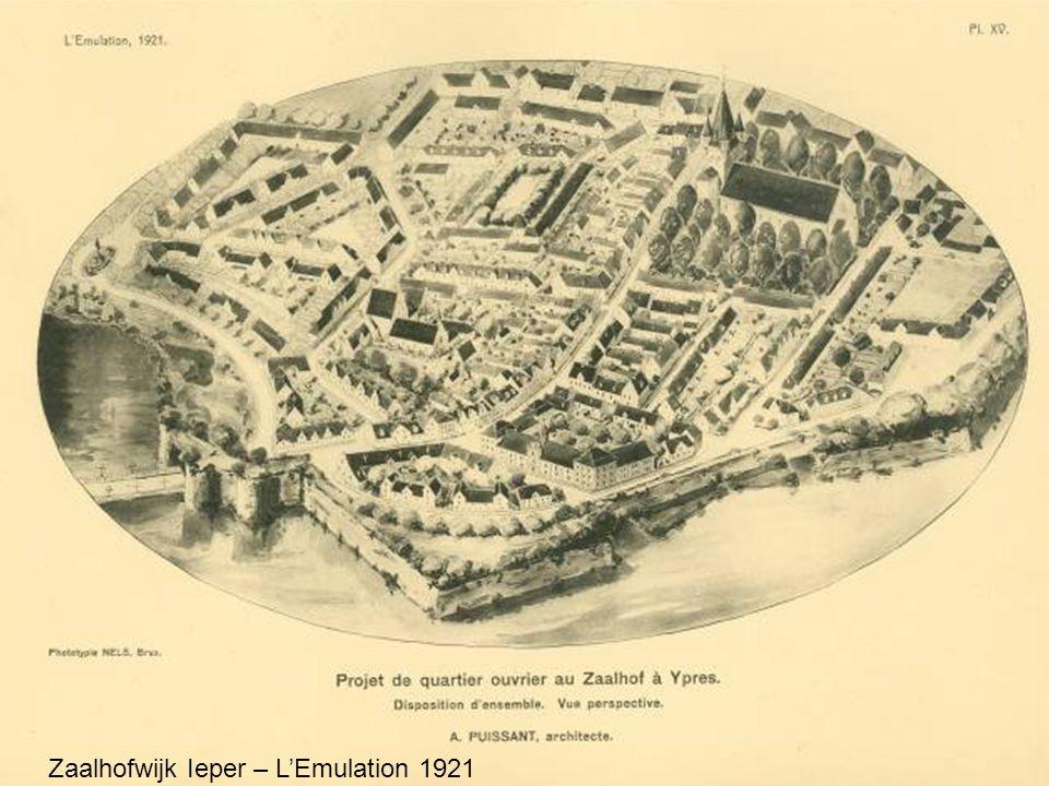 Zaalhofwijk Ieper – L'Emulation 1921