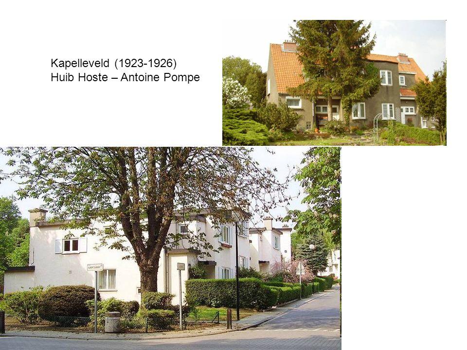 Kapelleveld (1923-1926) Huib Hoste – Antoine Pompe