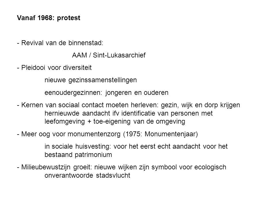 Vanaf 1968: protest - Revival van de binnenstad: AAM / Sint-Lukasarchief - Pleidooi voor diversiteit nieuwe gezinssamenstellingen eenoudergezinnen: jo