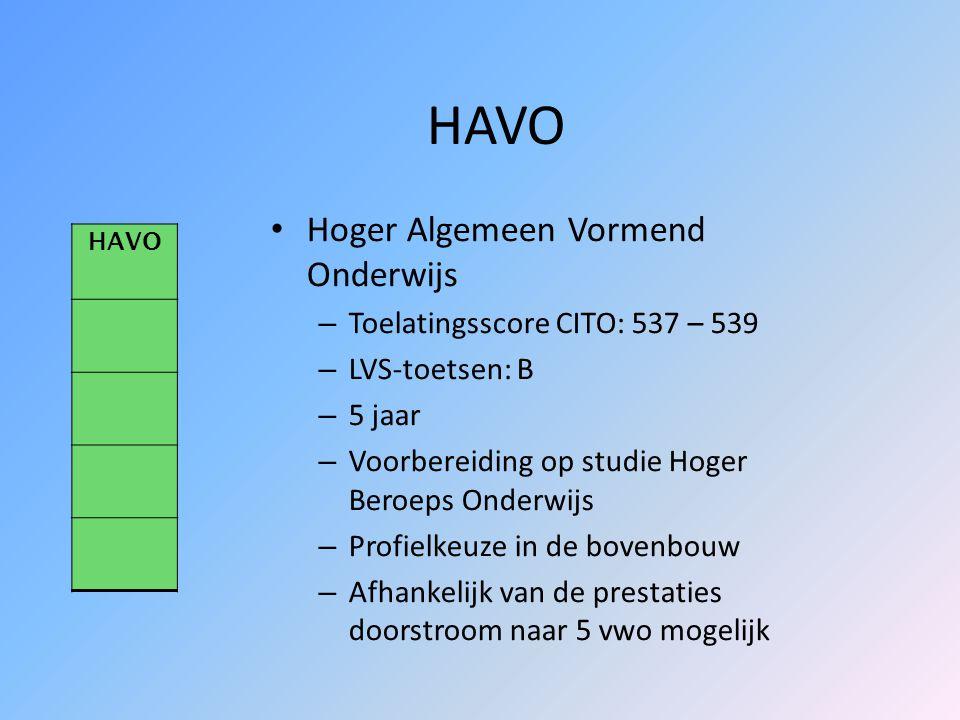 VWO Voorbereidend Wetenschappelijk Onderwijs – Toelatingsscore CITO: 540 of hoger – LVS-toetsen: A/B – 6 jaar – Twee schoolsoorten: Atheneum Gymnasium