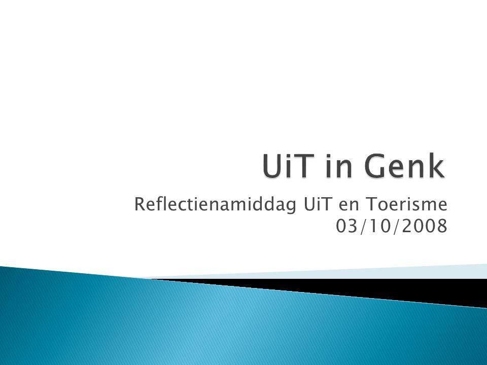 Reflectienamiddag UiT en Toerisme 03/10/2008