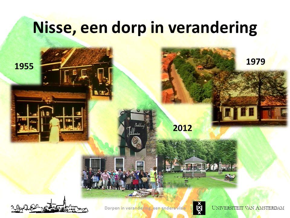 U NIVERSITEIT VAN A MSTERDAM Verandering en Onzekerheid Geert Mak (1996): hoe langer ik in het dorp verbleef, des te meer besefte ik dat het eigenlijk allemaal nog moest beginnen.