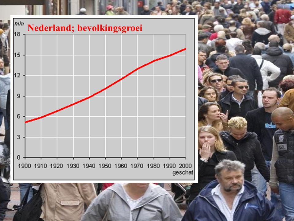 Nederland; bevolkingsgroei