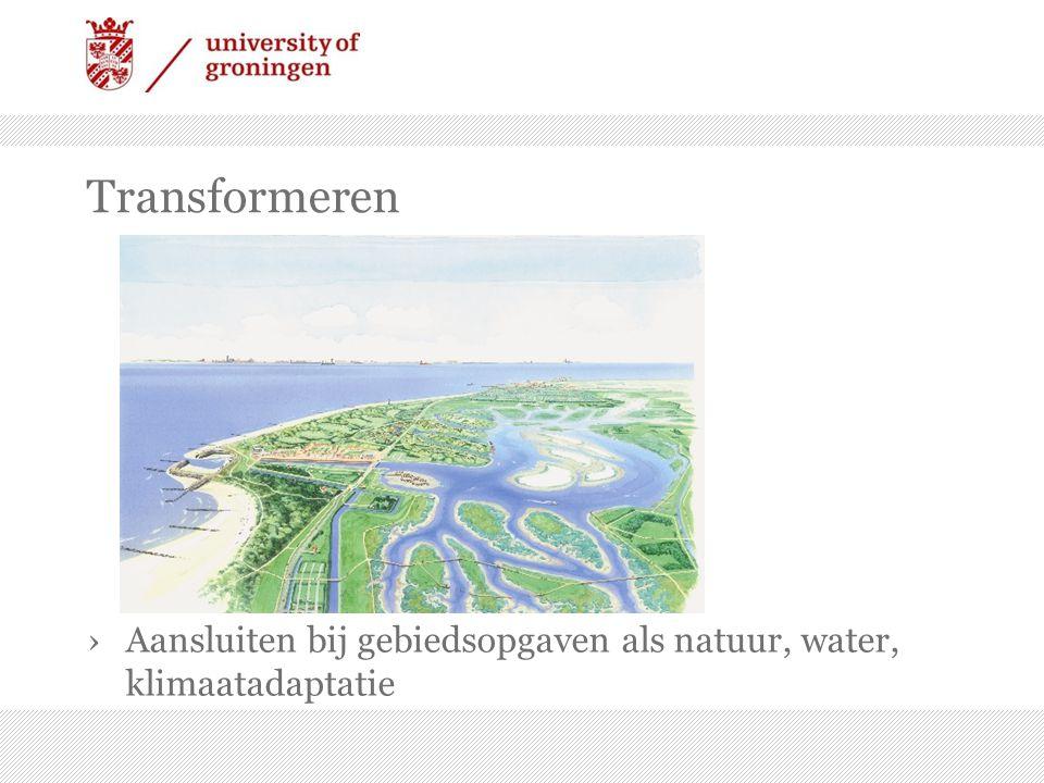 Transformeren ›Aansluiten bij gebiedsopgaven als natuur, water, klimaatadaptatie