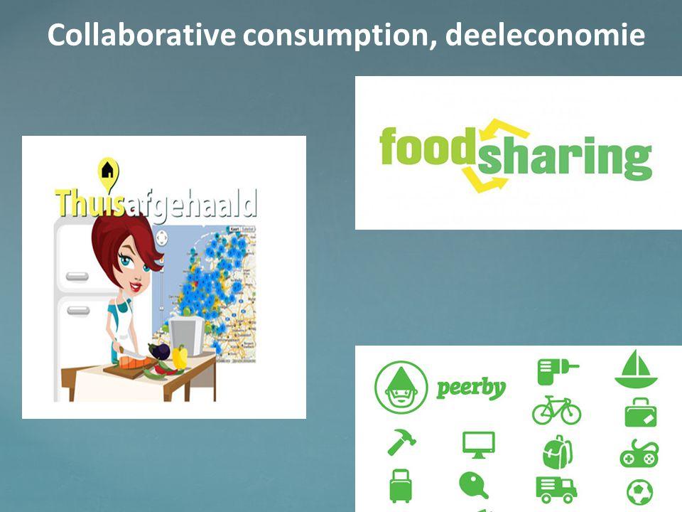 Collaborative consumption, deeleconomie