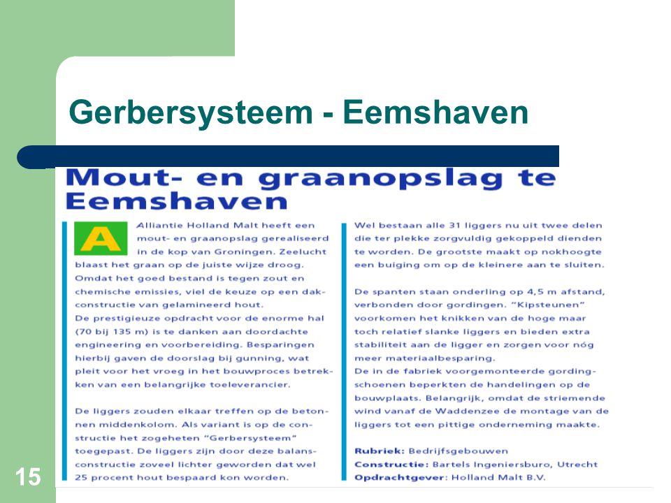 15 Gerbersysteem - Eemshaven