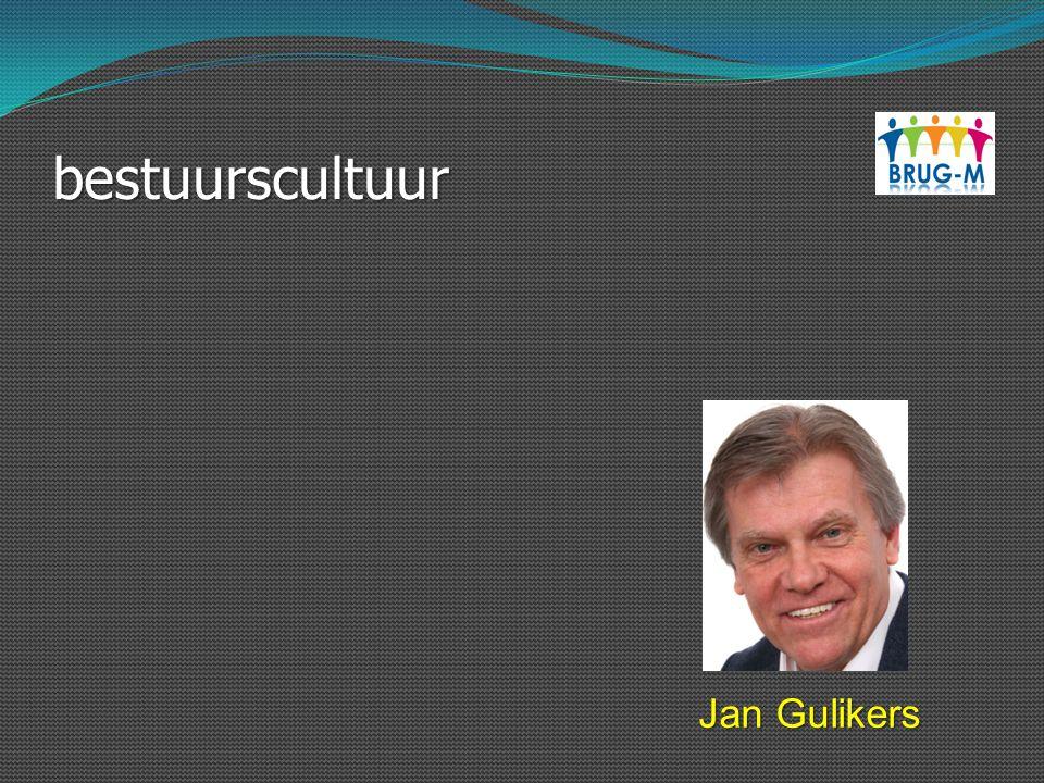 bestuurscultuur Jan Gulikers