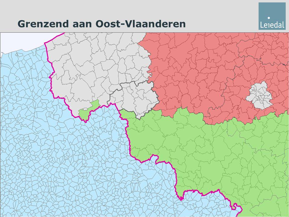 Grenzend aan Oost-Vlaanderen