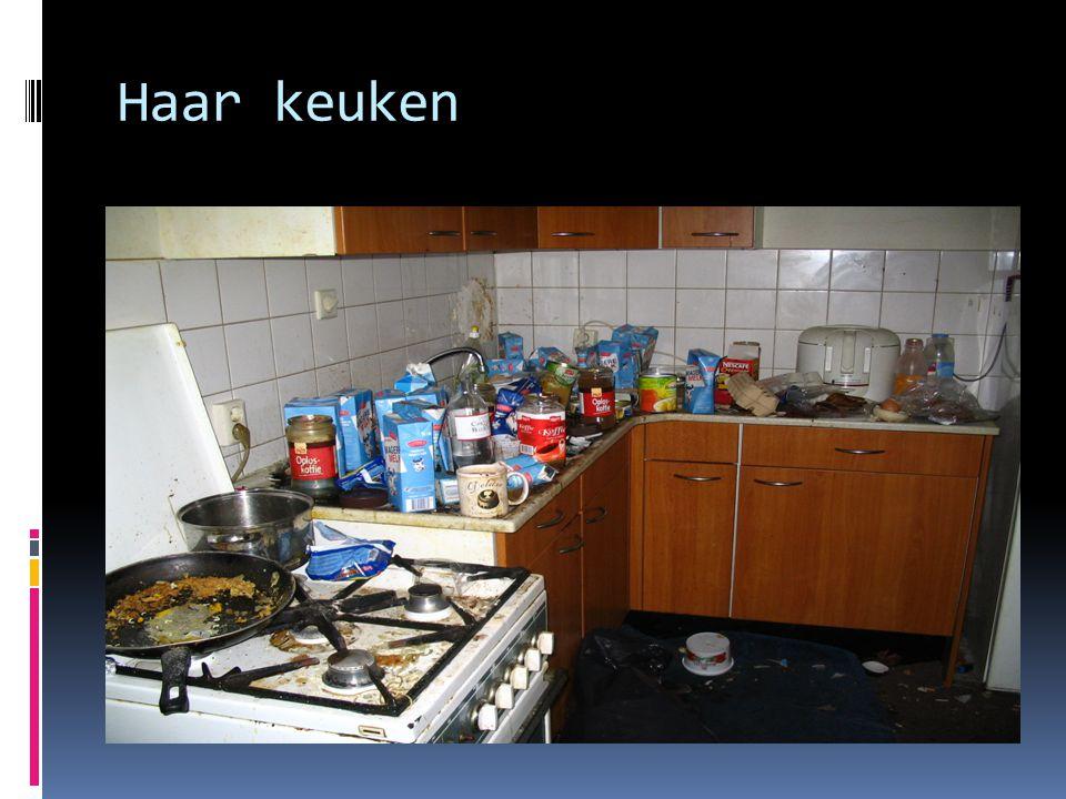 Haar keuken