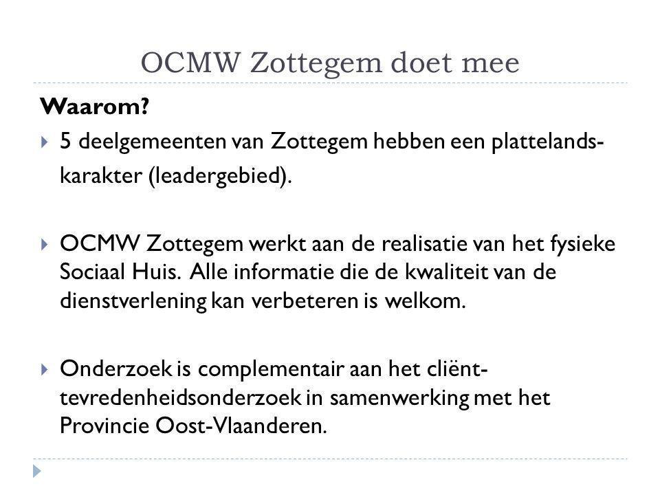 OCMW Zottegem doet mee Waarom.