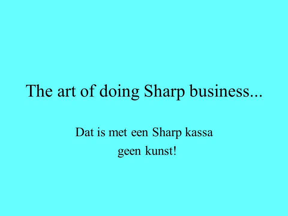 Welkom bij Het Kassa HuisHet Hét adres voor Sharp kassa's