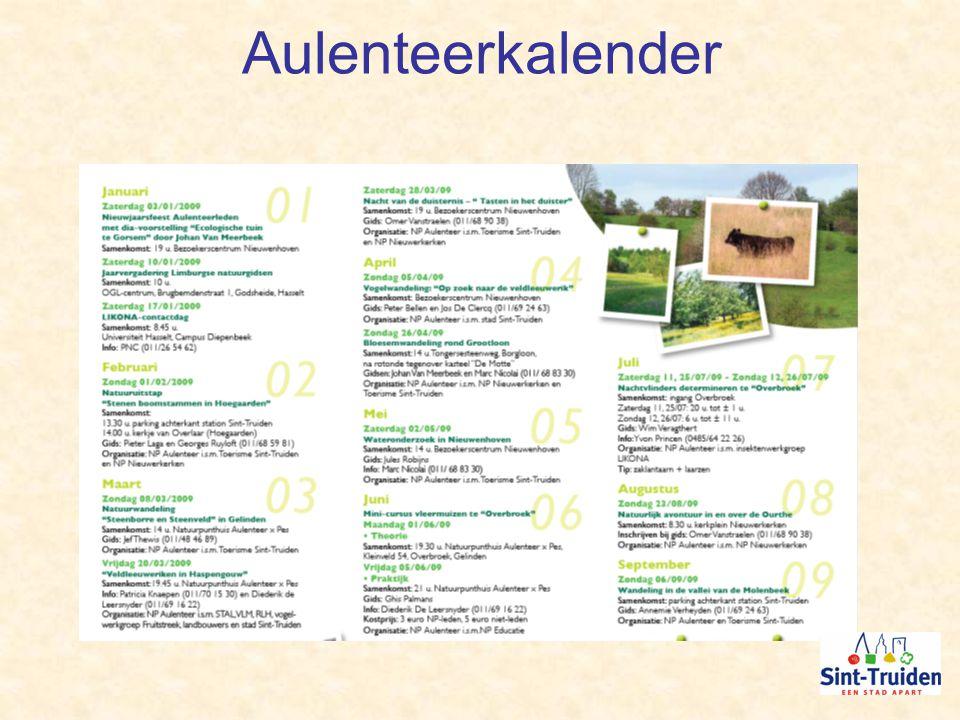 Aulenteerkalender